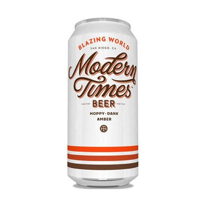 Blazing World Modern Times Beer ABV: 6.8%  4 Pack Cans