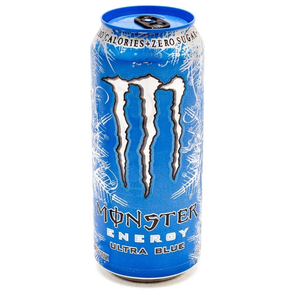 Monster Energy Ultra Blue 16 OZ