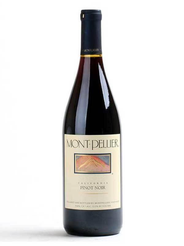 Montpellier Pinot Noir 2016  ABV: 12.5%  750 mL