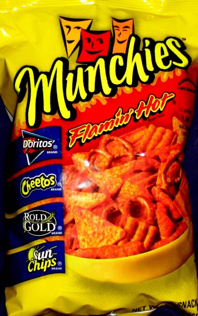 Frito Lay Munchies Flamin Hot 8 OZ