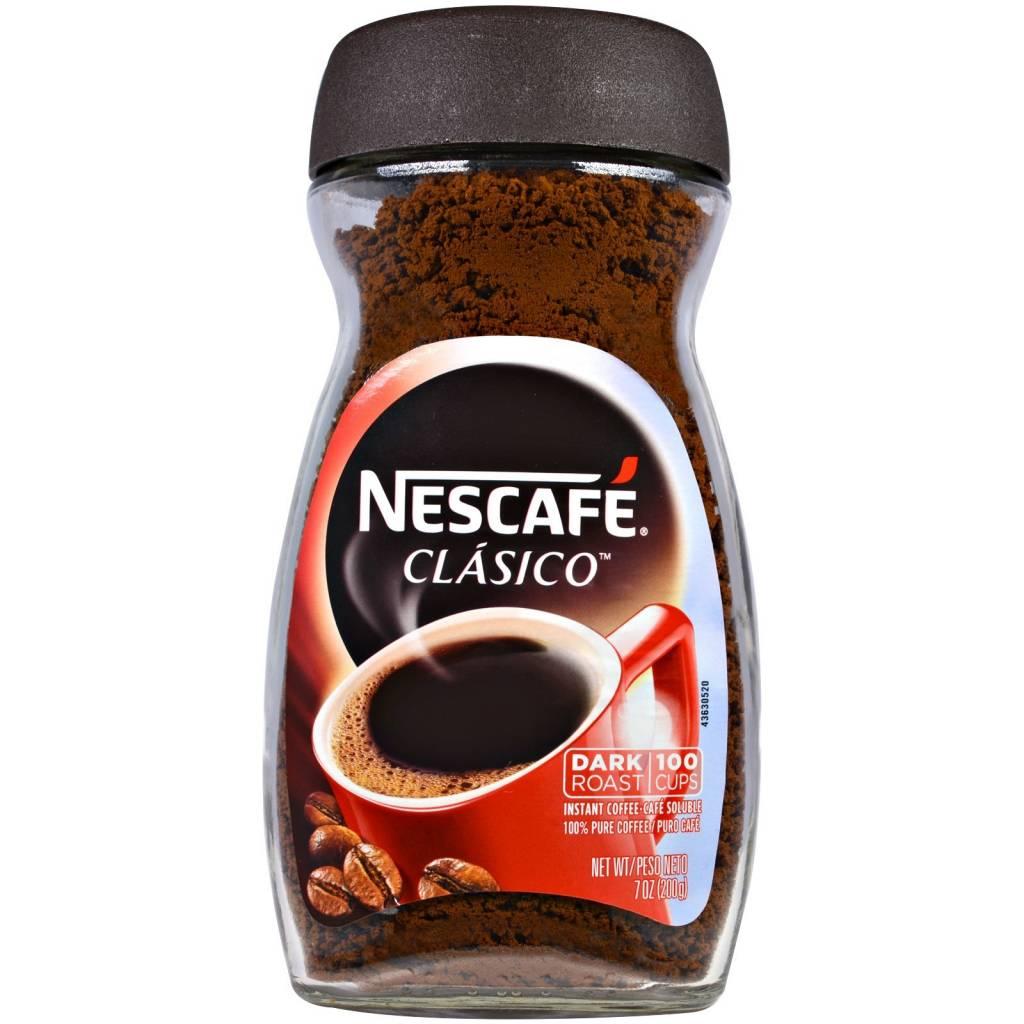 Nescafe Clasico Dark Roast 7 oz