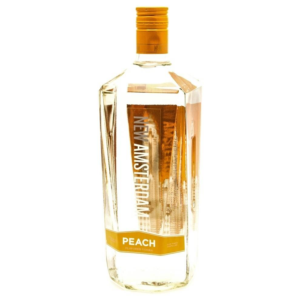New Amsterdam Vodka Peach Proof: 70  50 mL