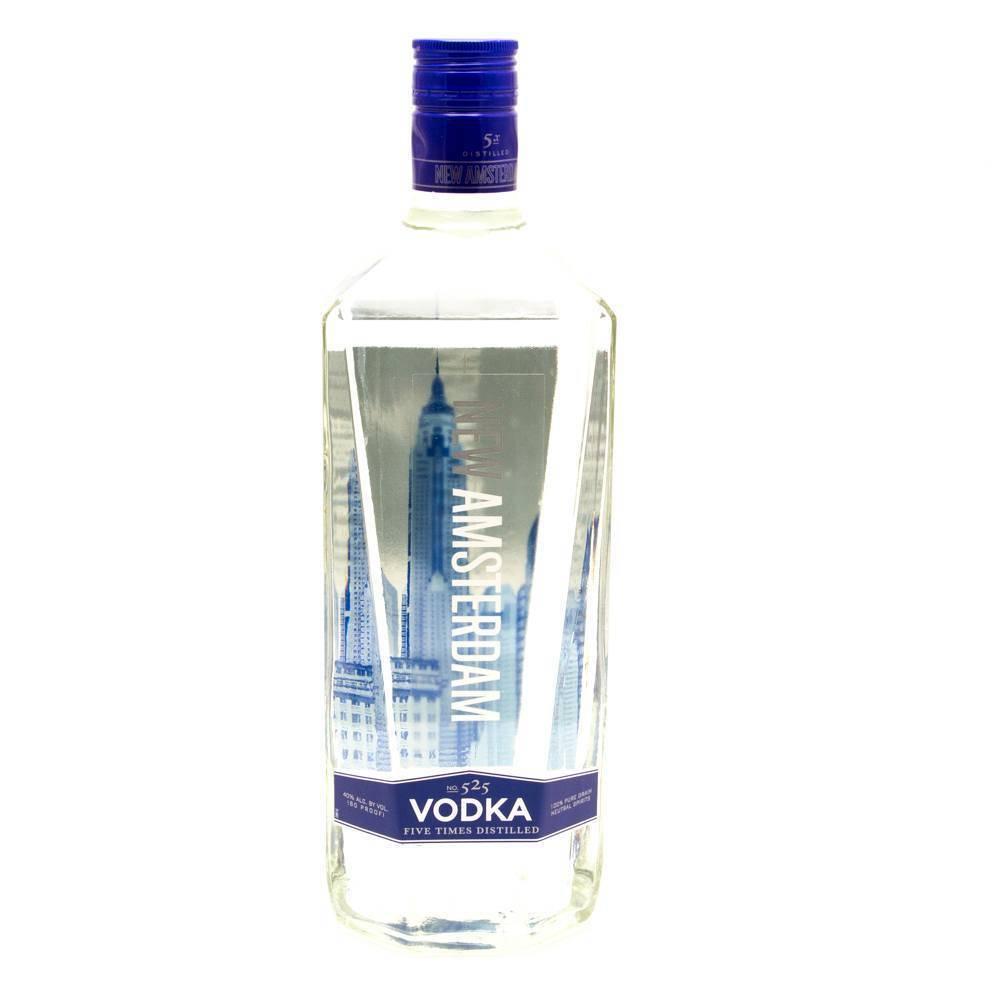New Amsterdam Vodka Proof: 80  750 mL