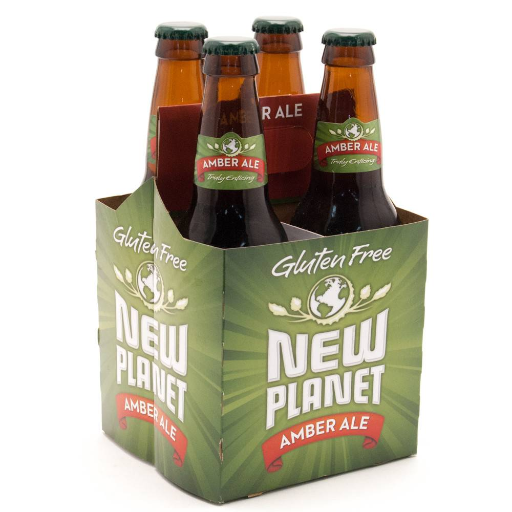 New Planet Amber Ale ABV: 5%  4 Pack