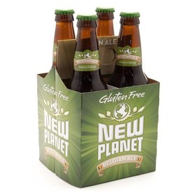 New Planet Belgian Style Ale ABV: 5%  4 Pack
