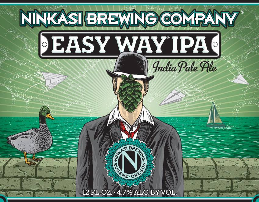 Ninkasi Brewing Co. Easy Way IPA ABV: 4.7%