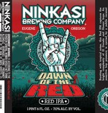Ninkasi Brewing Co. Dawn of the Red IPA ABV: 7%