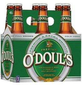O'Doul's Non-Alcoholic Beer ABV; .5%  6 Pack
