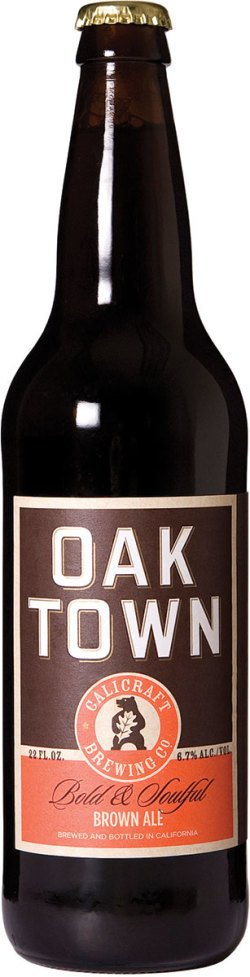 Calicraft Brewing Co. Oaktown Brown ABV: 6.7%  6 Pack
