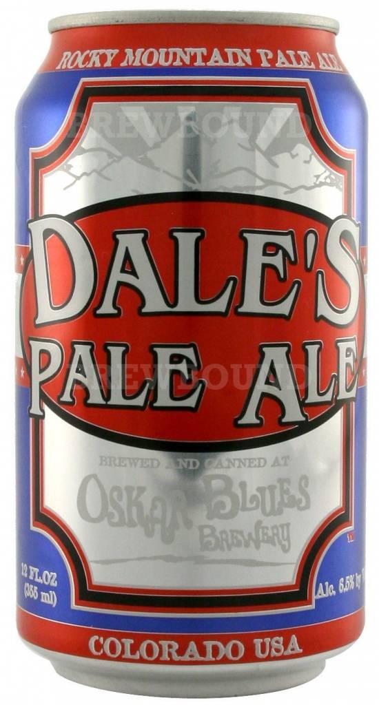 Oskar Blues Brewery Dale's Pale Ale ABV: 6.5%