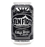 Oskar Blues Brewery Ten Fidy ABV: 10.5%  4 Pack