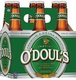 O'doul's ABV: .5%  6 Pack