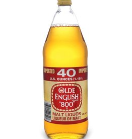 Old English 800 Malt Liquor ABV: 5.9%  42 OZ