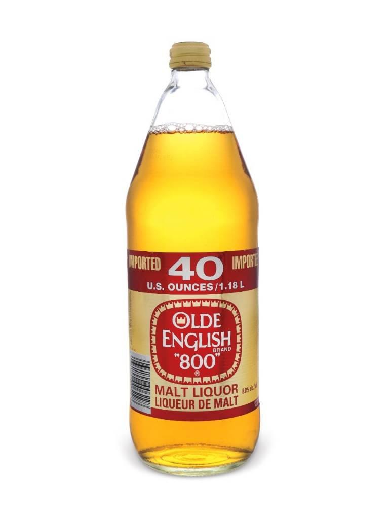 Old English 800 Malt Liquor ABV: 5.9%  42 OZ