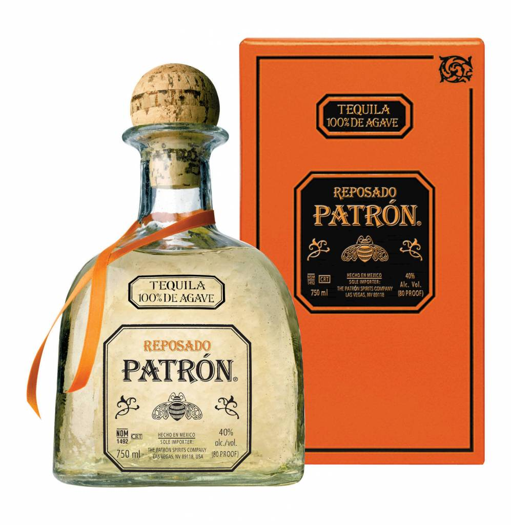 Patron Reposado Tequila Proof: 80  750 mL