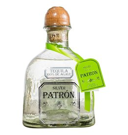 Patron Silver Tequila Proof: 80  750 mL