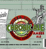 Pizza Port Chronic Ale Amber Ale ABV: 4.9% 6 Pack