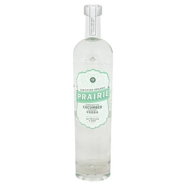 Prairie Cucumber Vodka Proof: 70  750ml