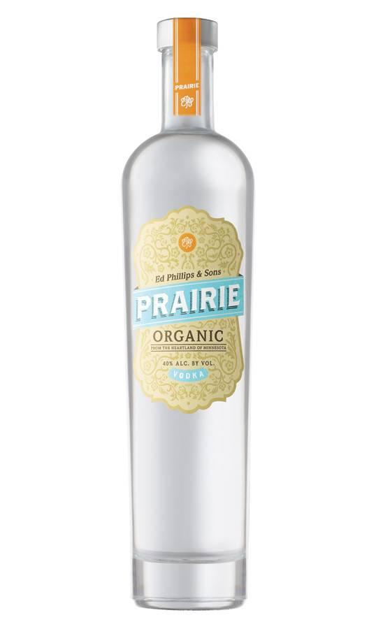 Prairie Organic Vodka Proof: 80  750 mL