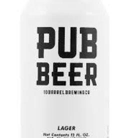 10 Barrel Brewing Co. Pub Beer ABV: 5%  6 Pack