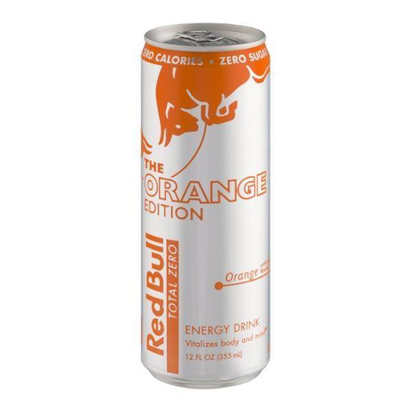 Red Bull Edition Orange 12 OZ