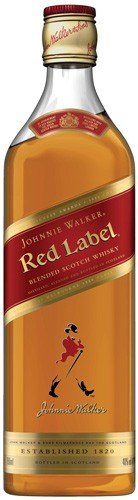 Johnnie Walker Red Label Scotch Whisky Proof: 80  375 mL