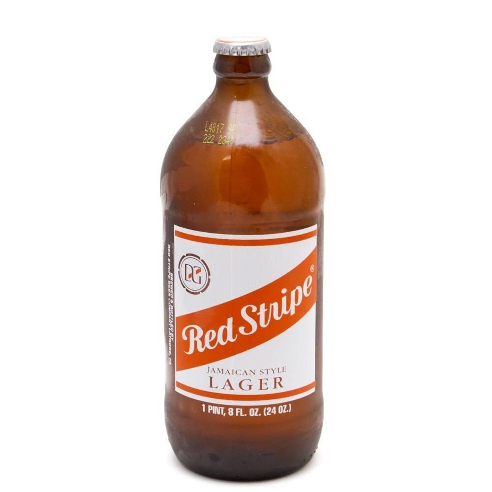 Red Stripe Jamaican Beer ABV 4.7% 6 packs