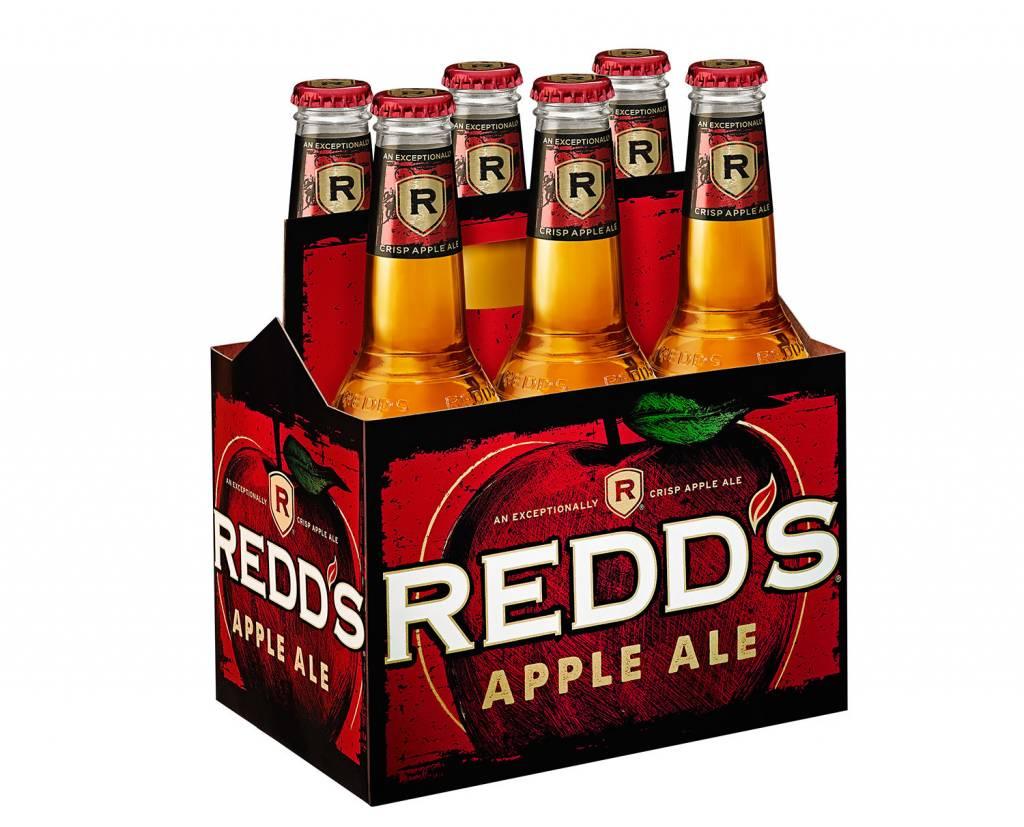 Redd's Apple Ale ABV 5% 6 packs Bottle