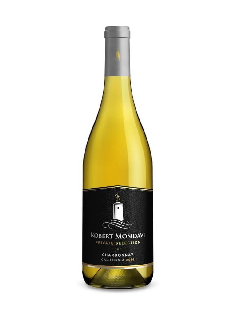 Robert Mondavi Private Selection Chardonnay 2016 ABV: 13.5%  750 mL
