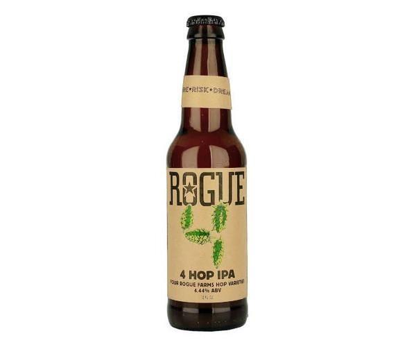 Rogue Ales Rogue 4 Hop IPA ABV: 4.4%