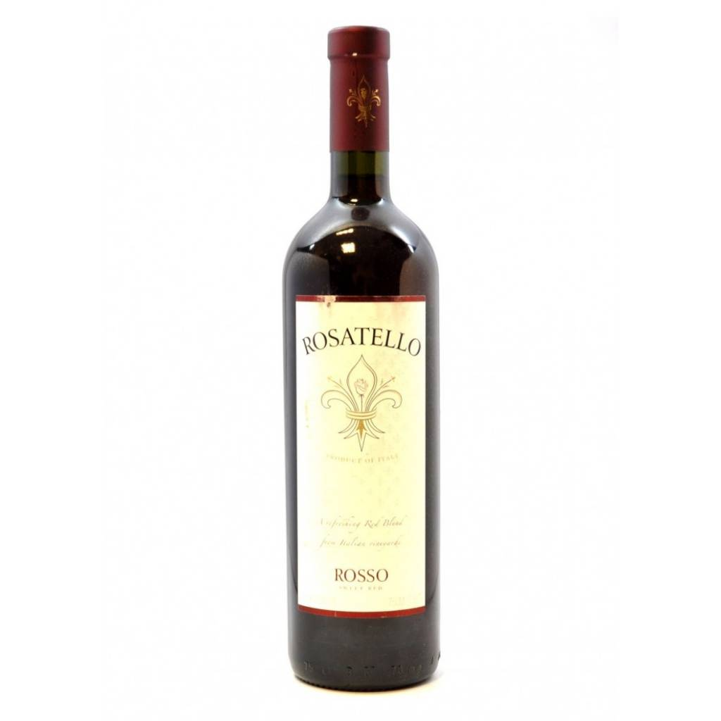 Rosatello Rosso ABV: 6.5%  750ml