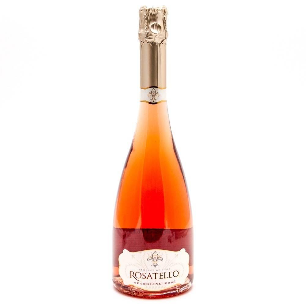 Rosatello Sparkling Rose ABV: 9.55  750ml
