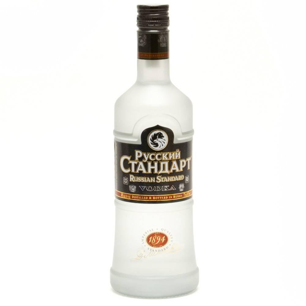 Russian Standard Vodka Proof: 80  750 mL