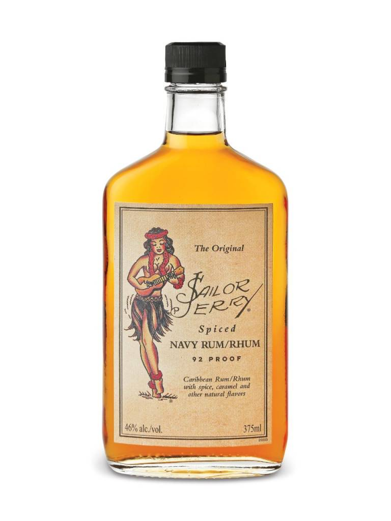 Sailor Jerry Rum Proof: 92  50 mL
