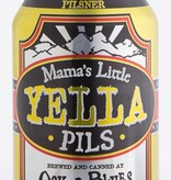 Oskar Blues Mama's Little Yella Pilsner ABV: 5.3% 6 Pack