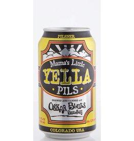 Oskar Blues Mama's Little Yella Pilsner ABV: 5.3% 6 Pack