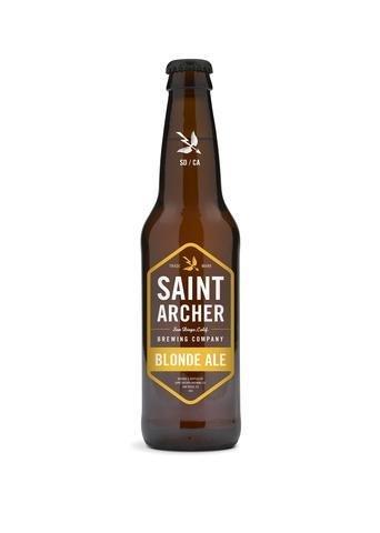 Saint Archer Blonde Ale ABV: 4.8%  6 Pack