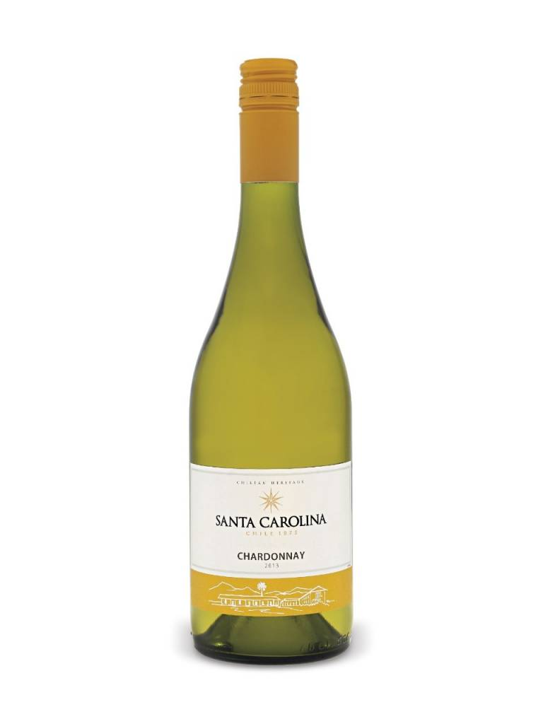 Santa Carolina Chardonnay 2016 ABV: 14%  750 mL