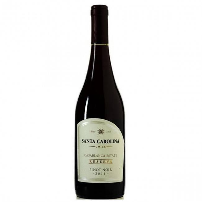 Santa Carolina Pinot Noir 2015  ABV: 13.5%  750 mL