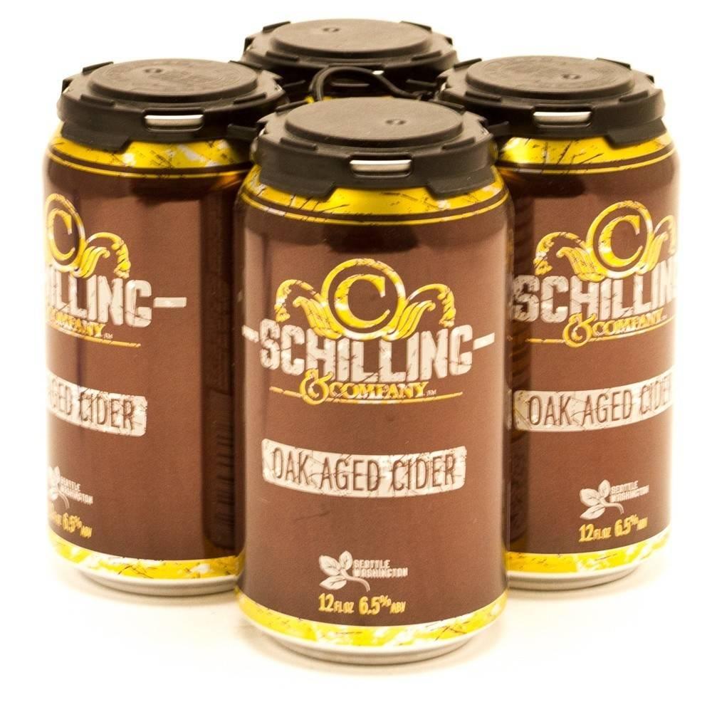 Schilling Oak Aged Cider ABV: 6.9%