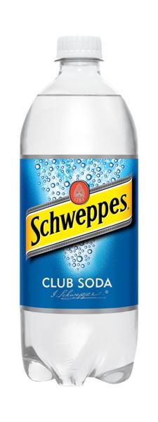 Schweppes Club Soda 1L