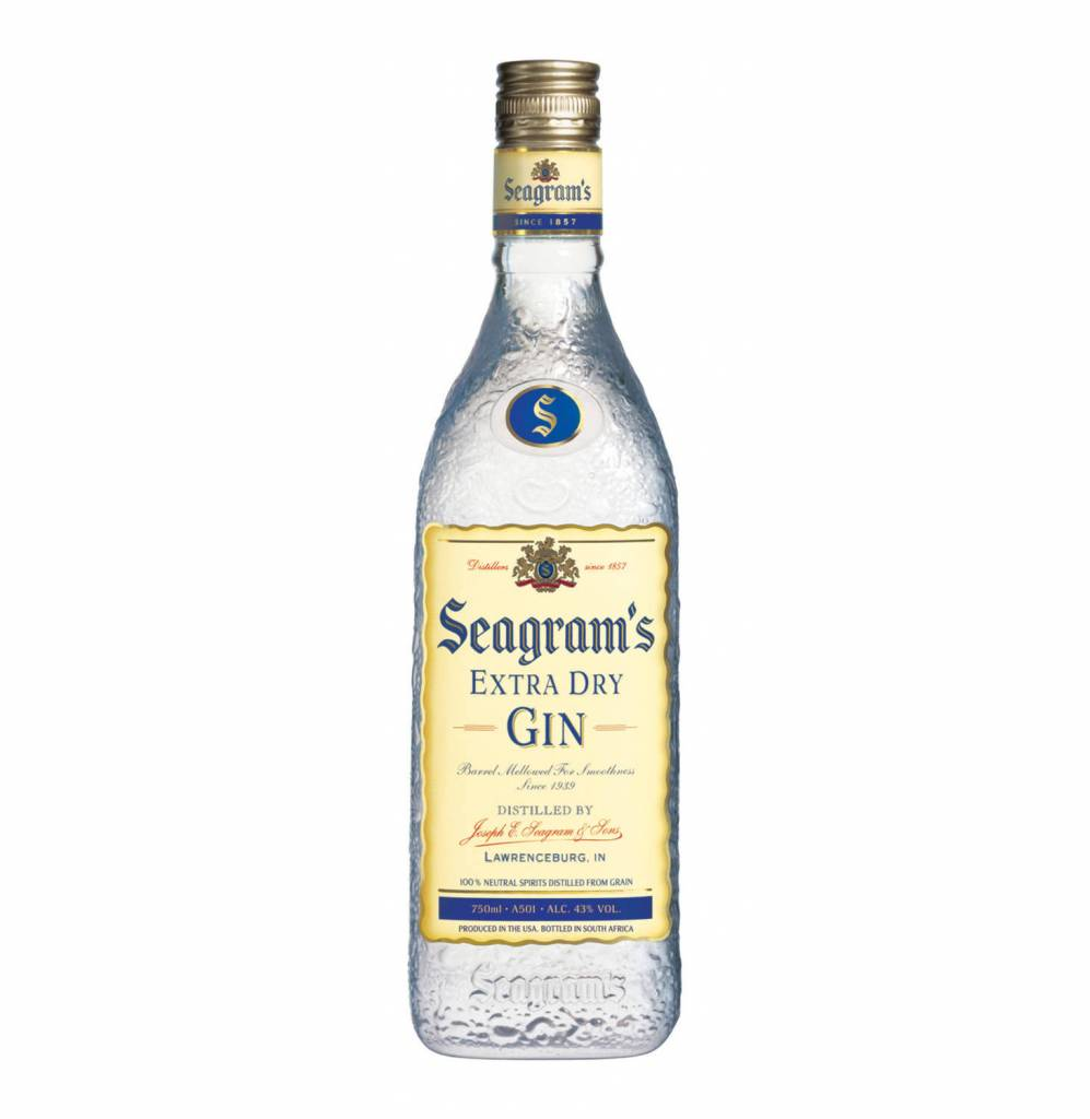 Seagram's Extra Dry Gin Proof: 80  200 mL
