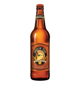 Shock Top Belgian White ABV: 5.2%  6 Pack