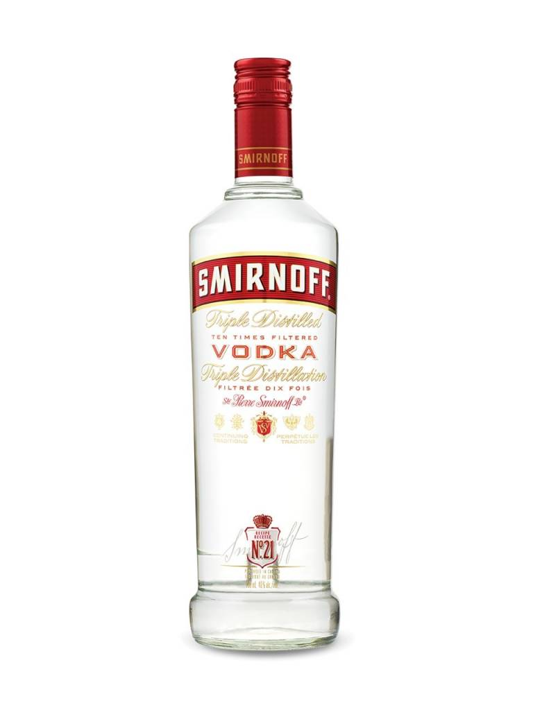 Smirnoff Vodka Proof: 100  375 mL