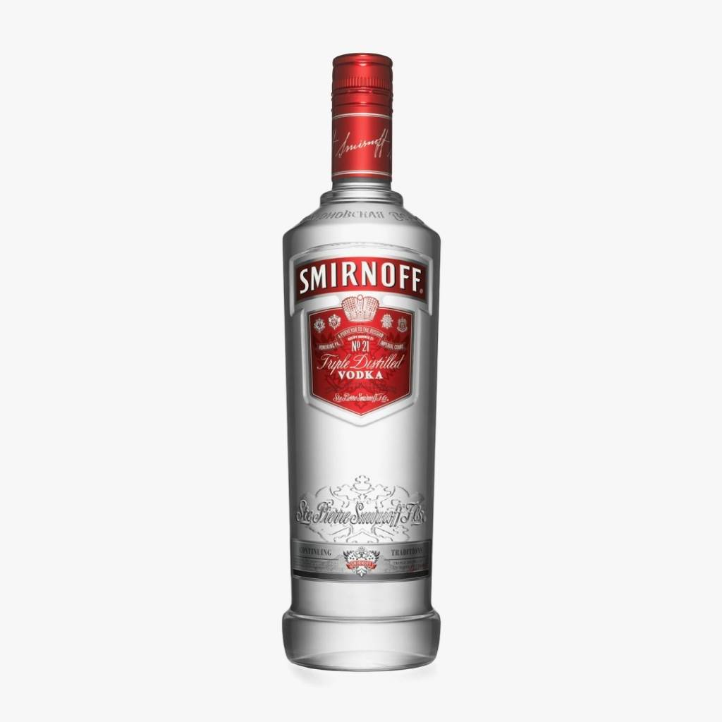 Smirnoff Vodka Proof: 80  50 ml