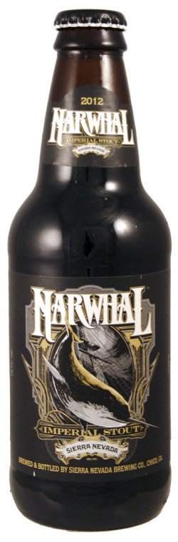 Sierra Nevada Brewing Co Narwhal Imperial Stout ABV: 10.2%  4 Pack
