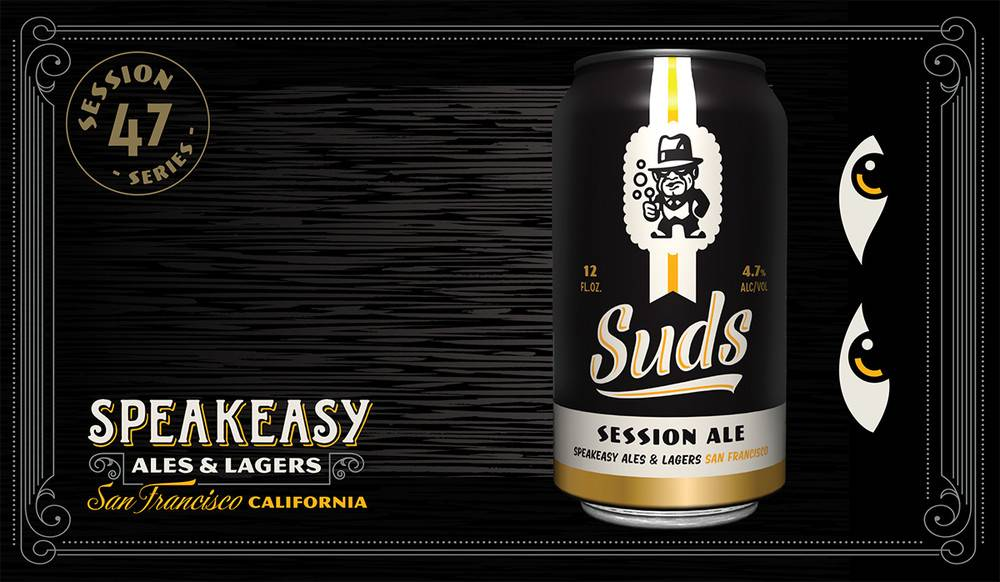 Speakeasy Suds Session Ale ABV: 4.7%