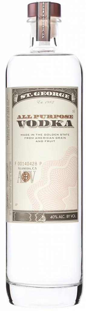 St George Vodka Proof: 80  750 Ml