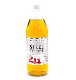 Steel Reserve 211 ABV: 8.1%  42 OZ