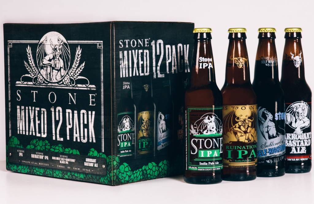 Stone Brewing IPA Mixed ABV: 6%  12 Pack